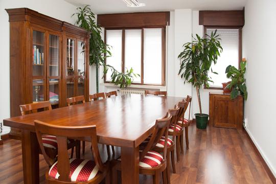 sala riunioni della sede di Padova